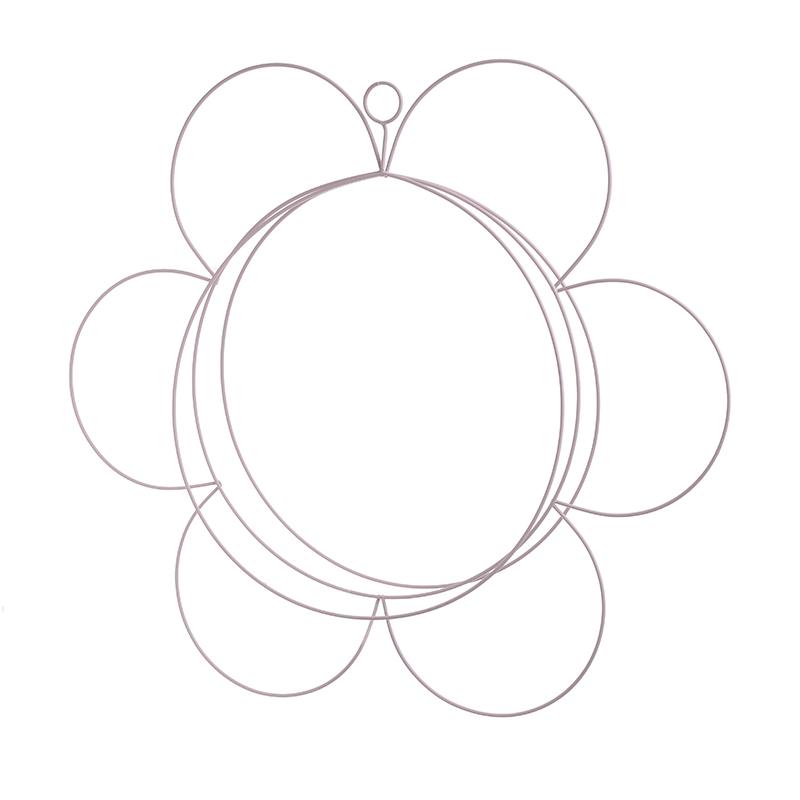 ΔΙΑΚΟΣΜΗΤΙΚΟ ΤΟΙΧΟΥ-ΤΖΑΚΙΟΥ INART ΔΙΑΚΟΣΜΗΤΙΚΟ ΤΟΙΧΟΥ ΜΕΤΑΛΛΙΚΟ ΛΕΥΚΟ Διαστάσεις (ΜΠΥ)42εκ x 2εκ x 42εκ