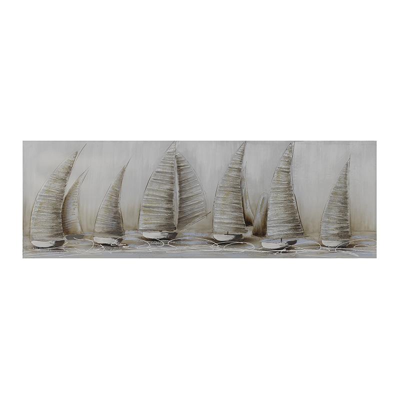 ΠΙΝΑΚΕΣ INART ΠΙΝΑΚΑΣ ΚΑΜΒΑΣ ΙΣΤΙΟΦΟΡΑ Διαστάσεις (ΜΠΥ)50εκ x 3εκ x 150εκ