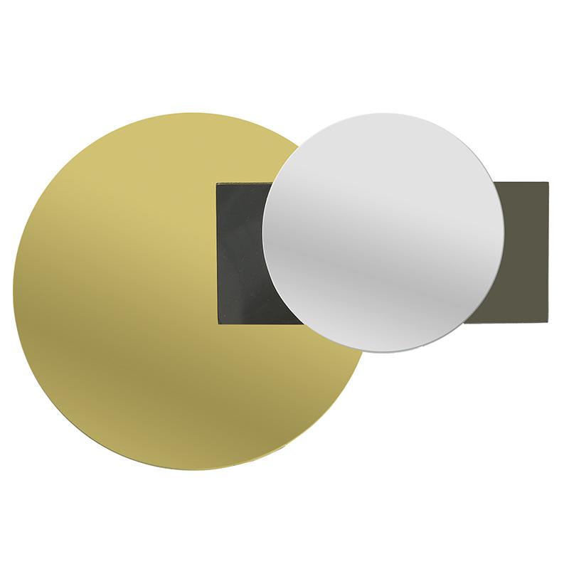 ΚΑΘΡΕΠΤΕΣ INART ΚΑΘΡΕΠΤΗΣ ΤΟΙΧΟΥ ΧΡΥΣΟΣ/ΜΑΥΡΟΣ Διαστάσεις (ΜΠΥ)45εκ x 2εκ x 30εκ