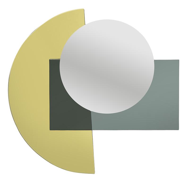 ΚΑΘΡΕΠΤΕΣ INART ΚΑΘΡΕΠΤΗΣ ΤΟΙΧΟΥ ΧΡΥΣΟΣ/ΜΑΥΡΟΣ Διαστάσεις (ΜΠΥ)37εκ x 2εκ x 37εκ