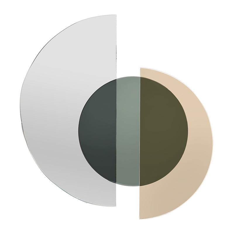 ΚΑΘΡΕΠΤΕΣ INART ΚΑΘΡΕΠΤΗΣ ΤΟΙΧΟΥ ΧΡΥΣΟΣ/ΜΑΥΡΟΣ Διαστάσεις (ΜΠΥ)36εκ x 2εκ x 38εκ